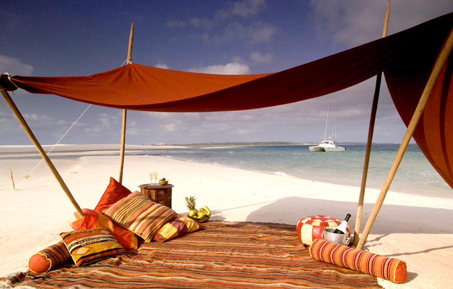 Honeymoon on Mozambique