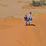 Namibia met Kinderen