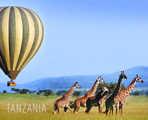 Luxury Safaris Tanzania - Sergenti Ballooning
