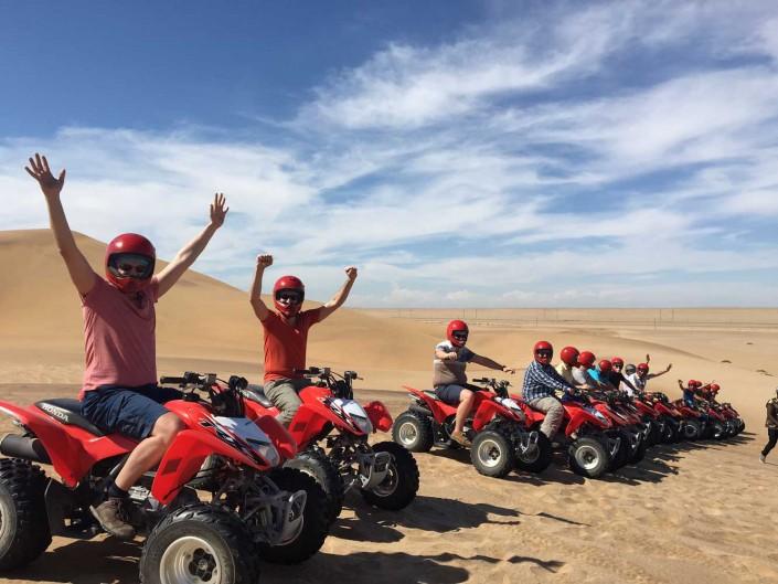 Incentive in the Namib Desert