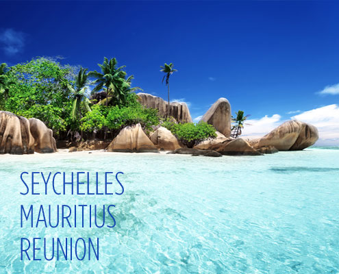 Indian Ocean Islands - Mauritius - Seychelles - Reunion